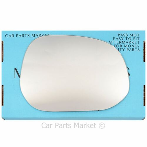 plate Right side Flat Wing mirror glass for Toyota granvia 95-10