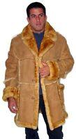 Men's Open Seam Marlboro Sheepskin Coat