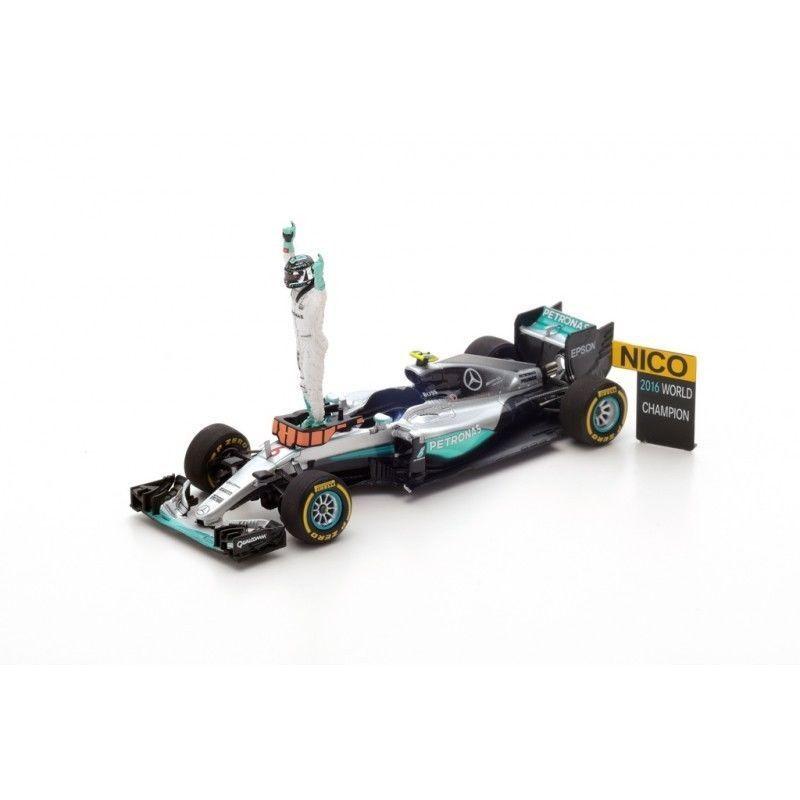 Mercedes-Benz AMG Petronas W07  6 Rosberg F1 Champion 2016 Abu Dhabi Spark S5025