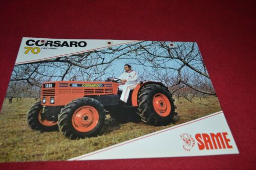 SAME Corsaro 70 Orchard Tractor Dealer/'s Brochure DCPA2