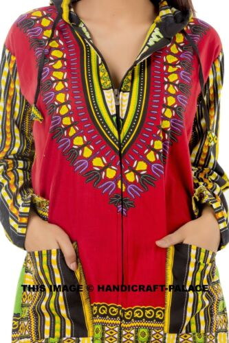 AFRICAN TRIBAL PONCHO DASHIKI SHIRT MEXICAN HIPPIE TRIBAL FESTIVAL T-SHIRT