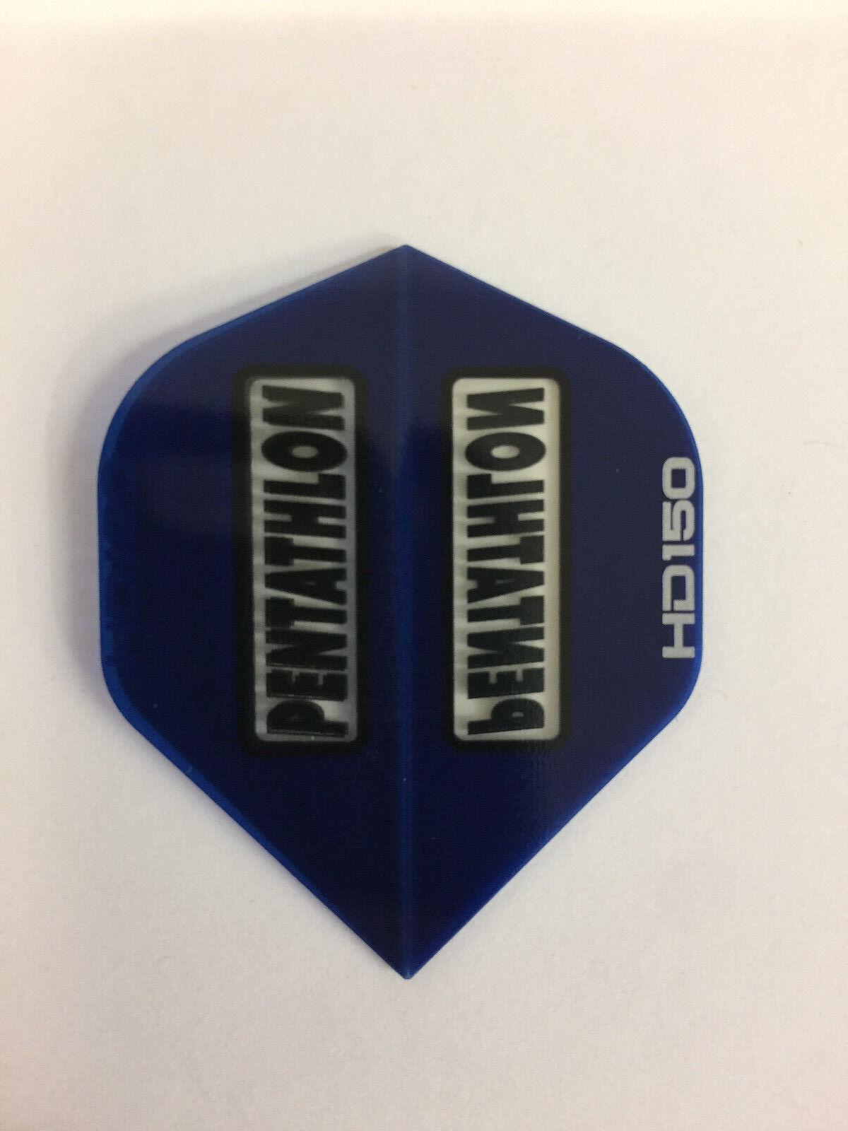3 per set Blue PENTATHLON HD150 Dart Flights
