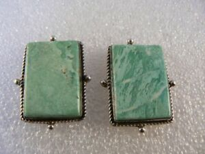 Native-American-Sterling-Fluorite-Signed-Earrings-E213