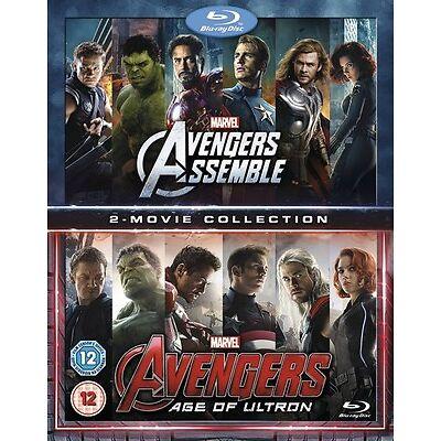 Marvel Avengers Assemble/Avengers: Age of Ultron [Blu-ray]