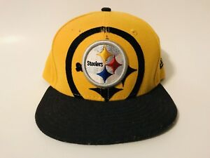 Image is loading Pittsburgh-Steelers-New-Era-59Fifty-Fitted-Cap-Hat- cedd36bc95f6
