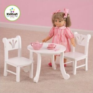 Superbe KidKraft Little Doll Table And Chair Set