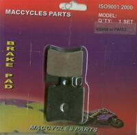 Piaggio Vespa Disc Brake Pads Zip 50 Electrico 2002 Front (1 Set)