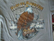 Vintage 1990 Harley Davidson Motorcycle 3d Emblem Minnesota Biker T Shirt M