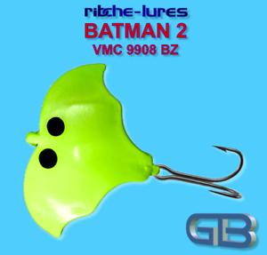 20g. Cicaden Batman 2 Kunstköder original RIBCHE LURES VMC 9908 BZ 4g