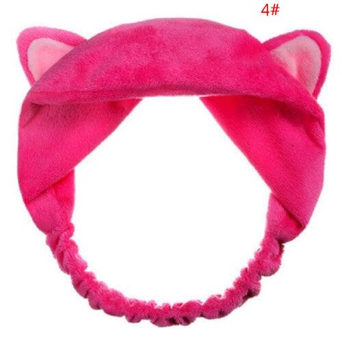 Damen Mädchen Cat Ears Stirnband Haarband Haarschmuck Haarreifen Headband Mode