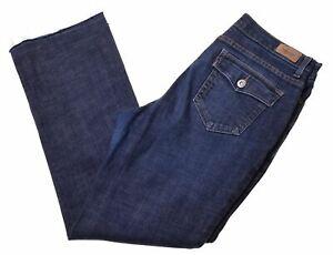 Levi-039-s-Damen-512-Jeans-w30-l27-Blau-Baumwolle-Bootcut-ih08