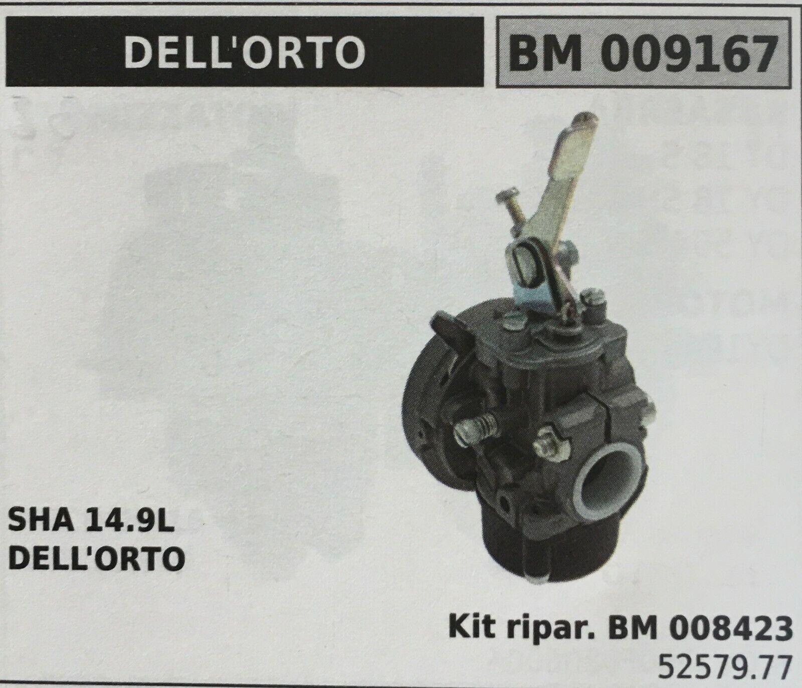 Cocheburador a Tanque Brumar Dell'Orto BM009167