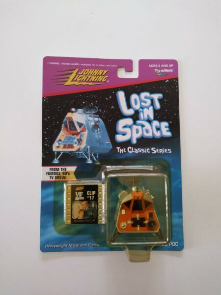 """""""johnny Lightning"""" -"""" Lost In Space-clip #17 - Space Pod"""" - 1998-new"""