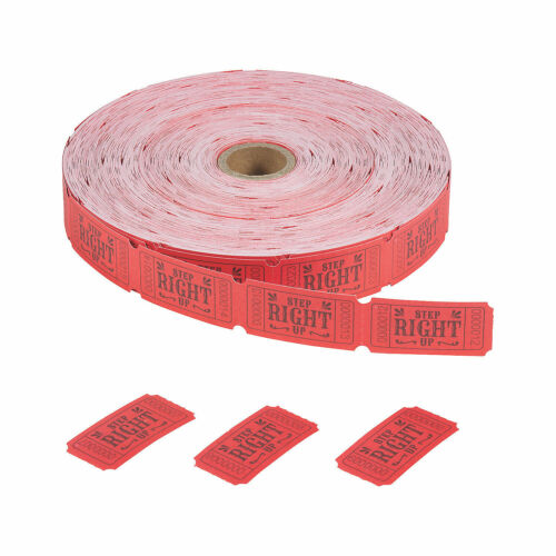 Carnival Roll Tickets 2000 Pieces Party Supplies