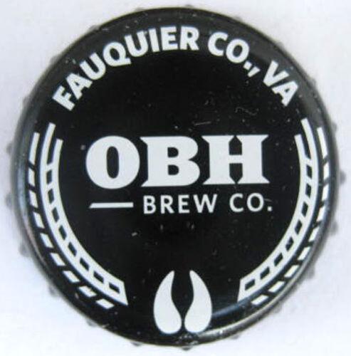 Warrenton OBH VIRGINIA OLD BUST HEAD BREW Beer CROWN used Bottle CAP Fauquier