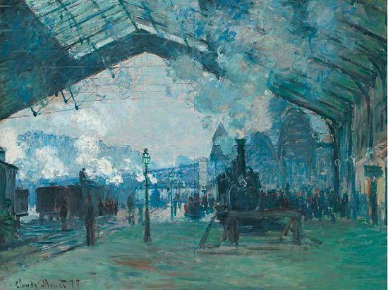 Claude Monet: Arrival Pantalla Of The Normandía Bocina Camilla-Imagen de Pantalla Arrival Clásico 13d3f9