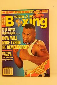 World-Boxing-Magazine-Mike-Tyson-Evander-Holyfield-Winter-1997