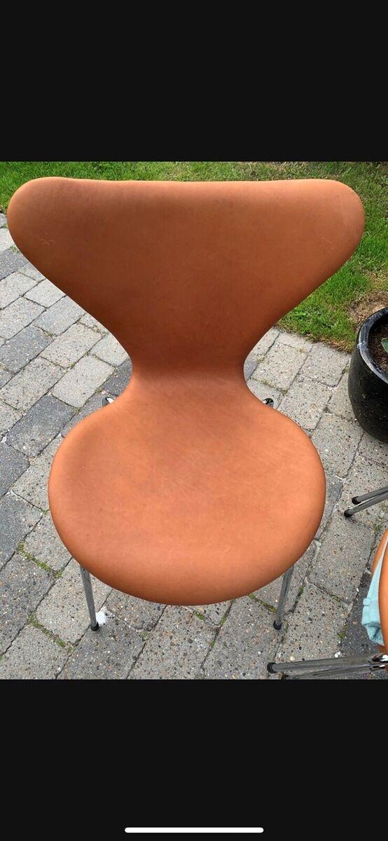 Arne Jacobsen, 3107, Stol, Super flotte 7'er stole. NyPol