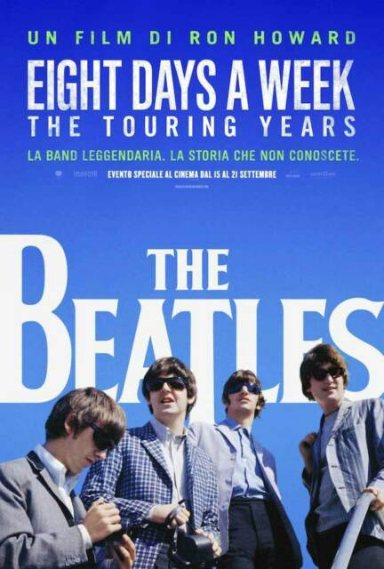 THE BEATLES - EIGHT DAYS A WEEK -  DVD MUSICALE