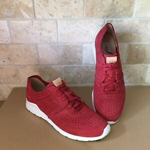 d6bf1efa96d Details about UGG TYE CHILI PEPPER NUBUCK LEATHER SNEAKERS TENNIS SHOES  SIZE US 9.5 WOMENS