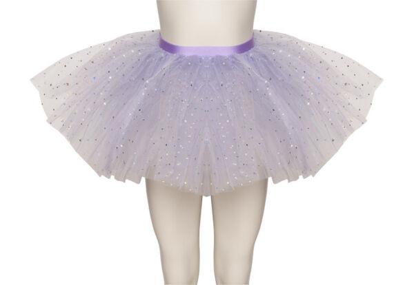 Abundante Lila Brillante Lentejuelas Danza Ballet Falda Tutú Infantil & Para Prevenir Y Curar Enfermedades