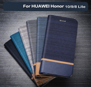 For-Huawei-Honor-20Pro-20-10-9-8-Lite-Business-Case-Flip-Card-Slot-Leather-Cover