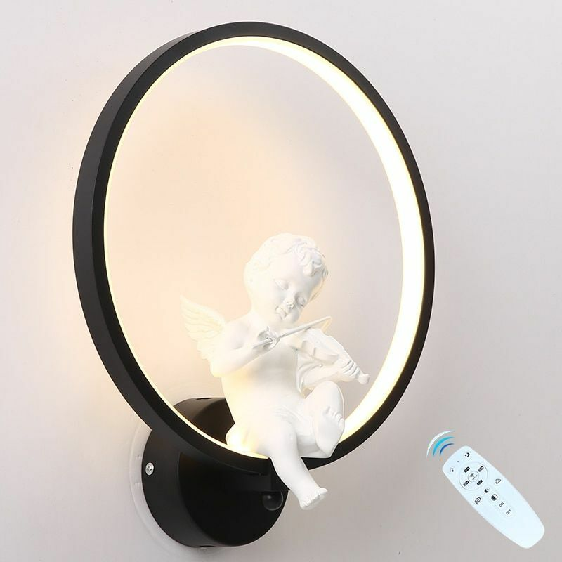 LED Wall Light Dimmable Segment 2.4G RF Remote Control Modern Bedroom Wall Lamp