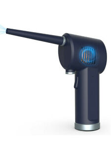 Rechargeable Cordless Air Duster Cleaner 40000r/min for Computer keyboard Blue