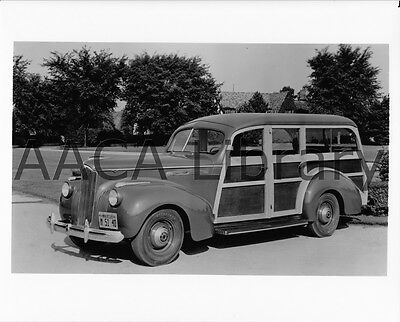 Factory Photo 1941 Packard 110 Station Wagon Picture Ref. #61904