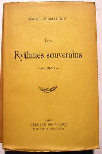 VERHAEREN-RYTHMES-SOUVERAINS-MERCURE-DE-FRANCE-1929