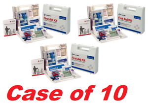 First Aid Only 223-U 25-Person First Aid Kit Case w/ Dividers (CASE OF 10 KITS)
