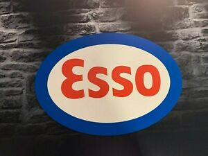 Enseigne-Plaque-Decorative-Garage-ESSO-60-cm-x-42-cm