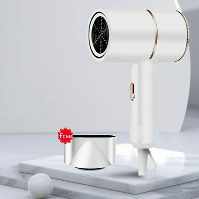 Details about  Ionic Hair Dryer, 2000W High Speed Negative Ion Blow Dryer Foldable (AU Plug)