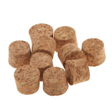10x Tapered Unused Taper Natural Corks Stopper for 7-18mm Bottle 9x7x10mm