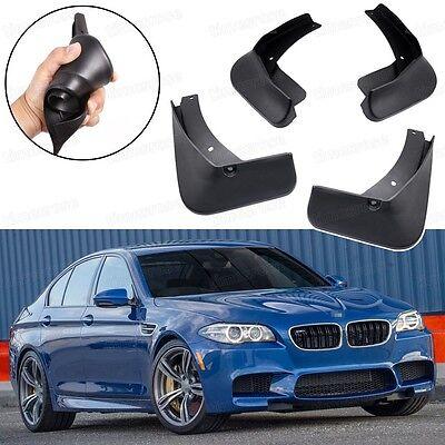 4 Mud Flaps Splash Guards Fender Car Mudguard Black for BMW M5 2018-Up