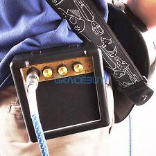 Mini chitarra amplificatore altoparlante Amp 3W per Ukulele Chitarra elettrica
