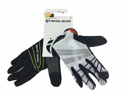 Pearl Izumi Elite Softshell White Color Winter Cycling Gloves 2XL NOS MSRP $60