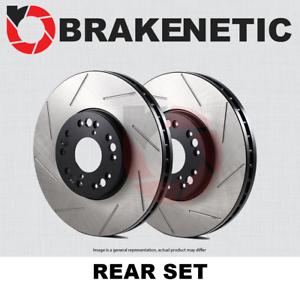 REAR SET BRAKENETIC PREMIUM SLOTTED Brake Disc Rotors BNP33127.SS
