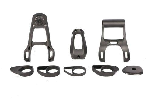 6D Aero Carbon Road Bicycle Handlebar Integrated Drop Bar 28.6mm UD Weave
