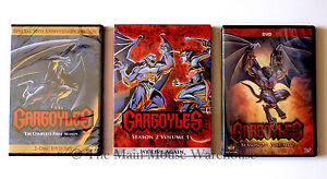 Amazing-Disney-Channel-Cartoon-Series-Gargoyles-Complete-Seasons-1-amp-2-on-DVD