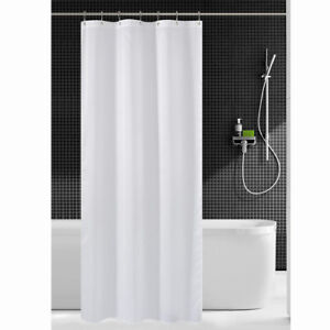 Image Is Loading Fabric Shower Curtain Mildew Resistant Washable Water Repellent