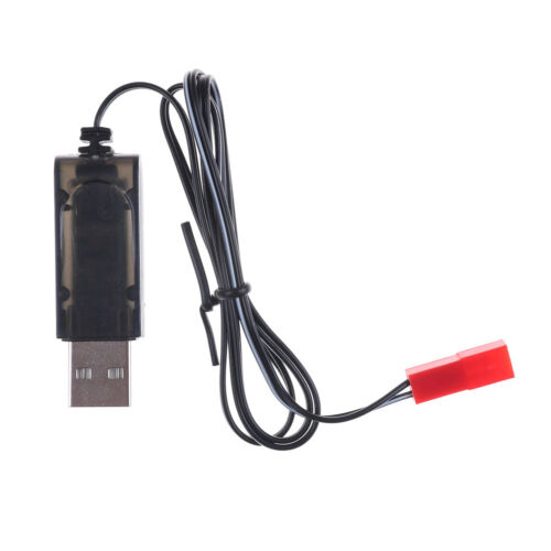 3.7V Black USB Charger Adapter Cable For Sky Viper Drone Helicopter PTS