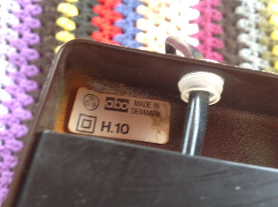 Væglampe, Abo H. 10.