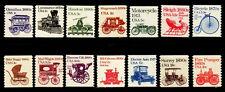 #1897 - 1908  1st Transportation Coil set/14 - MNH