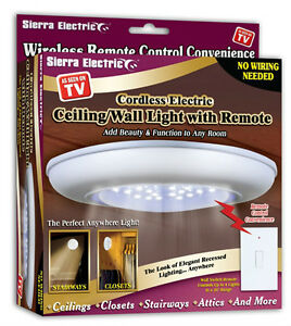 wireless closet lighting. Image Is Loading Add-On-Replacement-Wireless-Ceiling-Wall-Light-Stairs- Wireless Closet Lighting E