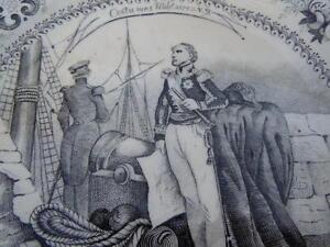 Assiette Porcelaine Décor Costume Militaire Capitaine Vaisseau Amiral Tenue 19èm Ab8fsta8-08002648-962574530