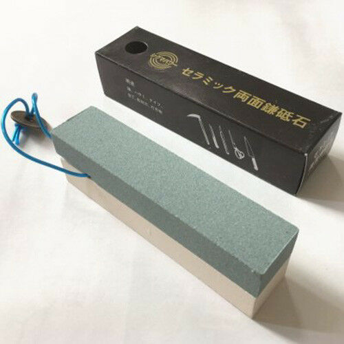 Ceramic Whetstone #240//#1000 for Sickle Japan New Sigma Power SS-001