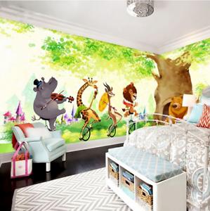 3D Animals Circus 75 Wall Paper Murals Wall Print Wall Wallpaper Mural AU Kyra