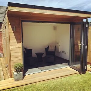 X garden room home office studio summer for Garden room 7m x 5m