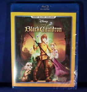 The Black Cauldron (Blu-ray, 1985, Disney Club Exclusive) NEW